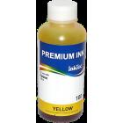 Чернила для Epson T50, P50, R270, L800, L1800, XP103 и др, InkTec (E0017-100MY) Yellow, для картриджей T0804, T0814, T0824, T1714, 100 мл