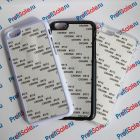 Чехол для iPhone 6 пластиковый с пластиной для сублимации: белый, черный, прозрачный