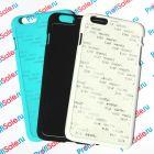 Чехол для iPhone 6 plus с покрытием Soft Touch (шелк) пластиковый с пластиной для сублимации: белый, черный, цветной