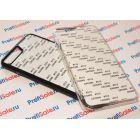 Чехол для iPhone 7 plus/8 plus пластиковый с пластиной для сублимации: белый, черный, прозрачный