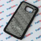 Чехол для Samsung S7 с покрытием Soft Touch (шелк) пластиковый с пластиной для сублимации: белый, черный
