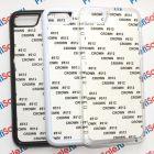Чехол для iPhone 7/7S пластиковый с пластиной для сублимации: белый, черный, прозрачный
