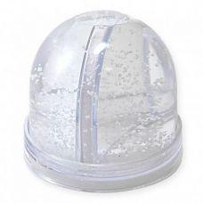 Водяной шар с хлопьями в виде снежинок для полиграфической вставки (без воды)