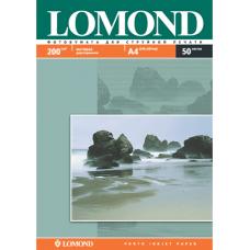 Фотобумага матовая / матовая двусторонняя Lоmond 0102033 (A4, 200 г/кв.м, 50 листов)
