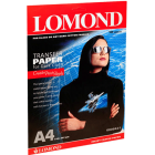 Фотобумага термотрансферная для темных тканей Lоmond 0808421 (A4, 140 г/кв.м, 10 листов)