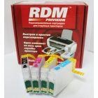 Перезаправляемые картриджи RDM №16 (T1621-T1624) для Epson WorkForce WF-2010W, 2510WF, 2520NF, 2530WF, 2540WF