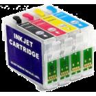 Перезаправляемые картриджи T0731-T0734 для Epson Stylus C79, C90, C92, CX3900, CX4900, CX5500, CX5600, CX5900, CX6900, CX7300, CX8300, CX9300, TX200, TX209, TX219, TX400, TX409 (авточипы)