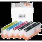 Перезаправляемые картриджи HP №178 для HP PhotoSmart C5380, C6375, C6380, D5460, D7560, B8550, C309a, (без чипов)