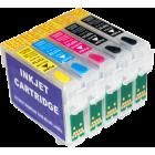 Перезаправляемые картриджи T0731-Т0734 для Epson Stylus T30, TX510, C110 (авточипы)