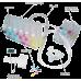 СНПЧ для Canon PIXMA iP3600/ iP4600/ iP4700/ MP540/ MP560/ MP620/ MP640/ MP980/ MP990 (без чипов)