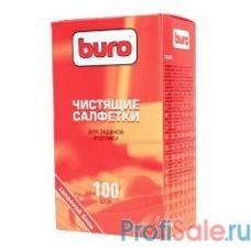 BURO BU-ZSCREEN [817446] Запасной блок к тубе с чистящими салфетками для экранов и оптики, 100шт.