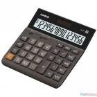 Калькулятор настольный CASIO DH-16, коричневый/черный {Калькулятор 16-разрядный} [333002]