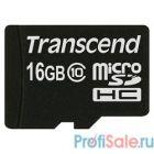 Micro SecureDigital 16Gb Transcend TS16GUSDC10 {MicroSDHC Class 10}
