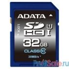SecureDigital 32Gb A-DATA ASDH32GUICL10-R {SDHC Class 10, UHS-I}
