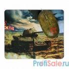 CBR Tank Battle USB, Мышь сувенирная+ коврик 1200 dpi, рисунок