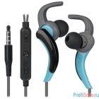 Defender OutFit W765 серый+голубой, вставки  [63766]