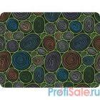 Dialog PM-H17 pebble с цветными кругами, Коврик для мыши - размер 285x215x3 мм