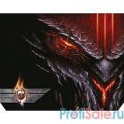 Dialog Gan-Kata PGK-07 diablo  с рисунком дьявола, Игровая поверхность для мыши - размер 300х235х3мм
