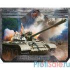 Dialog Gan-Kata PGK-07 tank с рисунком танка, Игровая поверхность для мыши - размер 300х235х3мм