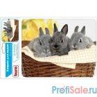 Коврик для мыши Buro BU-M40092 рисунок/кролики [291852]