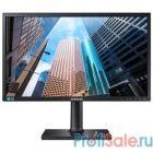 "LCD Samsung 24"" S24E650DW черный {PLS LED 1920x1200 16:10 250cd 178гр/178гр D-Sub DVI DisplayPort}"