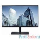 "LCD Samsung 23.8"" S24H850QFI черный {PLS LED 2560x1440 5ms 16:9 1000:1 300cd 178/178 HDMI DisplayPort}"