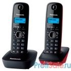 Panasonic KX-TG1612RU3 {Доп трубка в комплекте,АОН, Caller ID,12 мелодий звонка,поиск трубки}
