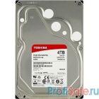 """4TB Toshiba N300 (HDWQ140UZSVA) {SATA 6.0Gb/s, 7200 rpm, 128Mb buffer, 3.5"""" для NAS}"""