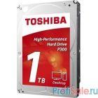 """1TB Toshiba P300 (HDWD110EZSTA) {SATA 6.0Gb/s, 7200 rpm, 64Mb buffer, 3.5""""}"""